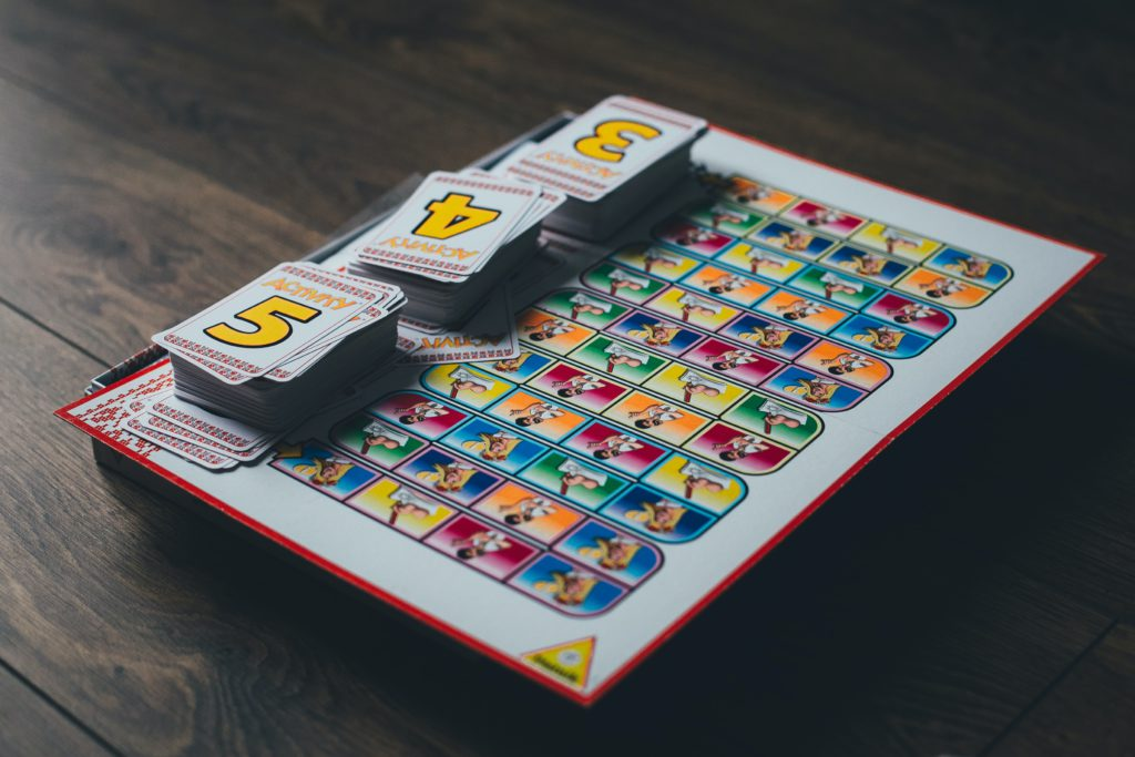 Photo of the Activity board game